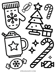 Color pictures of reindeer, christmas trees, santa claus and more. 10 Christmas Coloring Pages Free Printables