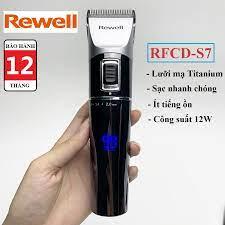 Tông đơ lưỡi cắt Titanium - Tông đơ cắt tóc chuyên nghiệp Rewell S7