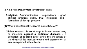 common interview questions for clinical research associate common interview questions for clinical research associate