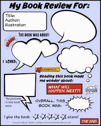 pdf of the book review template free book review template for kids