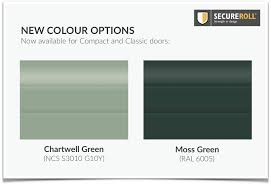 Compact Colour Range Expands With Chartwell Green And Moss Green