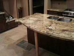 support granite countertop overhang for counter with 23