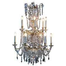 antique 18th century gilded bronze chandelier from france for