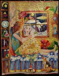 854 best Quilts - Art Quilts images on Pinterest | Applique quilts ... & This quilt by Gail Thomas was featured at the International Quilt Festival  in Houston in It had so much detail and I found the more I stood before. Adamdwight.com