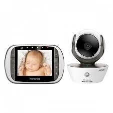 Motorola MBP853CONNECT WiFi HD Video Baby Monitor - MotorolaStore.com