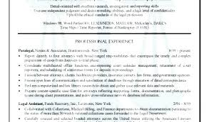 Immigration Paralegal Resumes Paralegal Resume Sample The