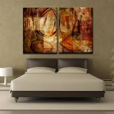 large abstract wall art bedrrom decoration large canvas wall art hanging abstract painting two panels stunning redult luxurious design interior on large canvas wall art ideas with wall art designs large abstract wall art bedrrom decoration large