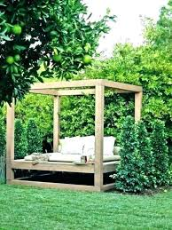 outdoor swing bed porch round with canopy australia