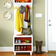 Coat Rack And Shoe Storage Custom Shoe Rack Storage Bench Shoe Storage Bench In White Coat Rack Shoe