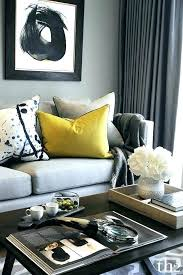grey blue yellow living room and appealing navy ful