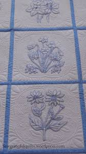 Classic Bluework Embroidery Quilt | Embroidered quilts, Embroidery ... & Classic Bluework Embroidery Quilt Adamdwight.com