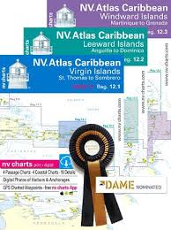 Yachtsman Chart Book Nv Charts Caribbean All Three Sets One Low Price