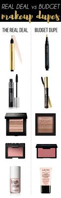 the more money you save on those expensive beauty items the more you can spend on those makeup dupes