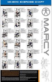 Easy Shaper Exercise Chart Marcy Diamond Elite Md 9010g Smith Machine 140kg Set