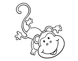 Monitos Tiernos Para Colorear Pin En Monos