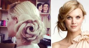 Модные прически на длинные и средние волосы Фото  Вечеряя модная прическа пучок