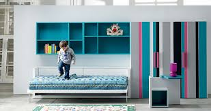 kids wall bed. Interesting Bed View In Gallery Milano Smart Living Bed With Mural Open For Kids Wall E