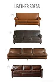 decorating with leather the new sofa