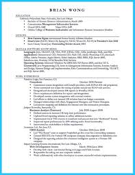 The Most Excellent Business Management Resume Ever