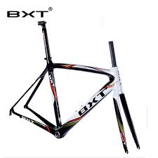 Frame Road Carbon China Super Light Di2 Carbon Road Bicycle Frame With Fork Seatpost Size 500 530 550mm China Racing Bike Frame Bike Frame Size Guide
