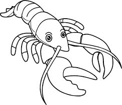 Small Picture Lobster Coloring Page Wecoloringpage