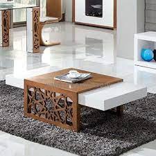 high gloss mdf modern coffee table in