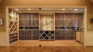 glass enclosed wine cellarjpg basement wine cellar idea
