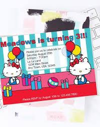 Hello Kitty Party Invitation Hello Kitty Birthday Party Invitation Printable Hello Kitty Birthday Invitation