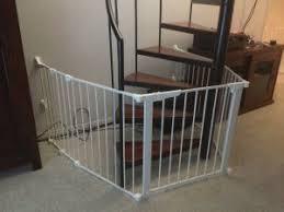 Baby Safety Gate Around Spiral Stairs Austin San Antonio Texas. baby  proofing, child proofing