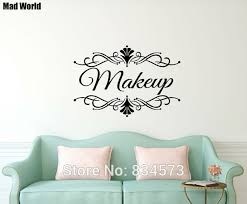 personalised name beauty salon business shop name wall art stickers wall decal home diy decoration removable on wall art business names with personalised name beauty salon business shop name wall art stickers