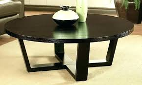 coffee table espresso fancy round pertaining to the threshold finish