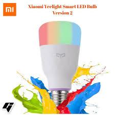 original xiaomi yeelight yldp06yl 10w rgb e27 app wireless smart wifi control control light bulb
