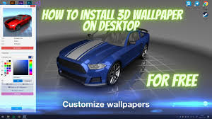How To Install 3D Wallpaper Engine For ...