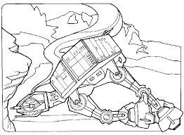 Small Picture Empire Strikes Back Coloring Pages Eric Strikes Back