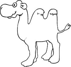 Facebook Outline Template Camel Icon Outline Style Template Facebook For Google Slides