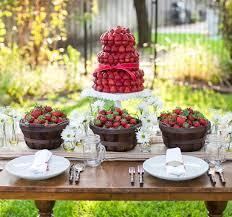 garden party ideas. Elegant Garden Party Decor Ideas Summer Theme Table Decorating With Strawberries D
