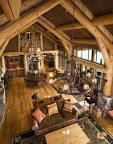 Log cabin interior decorating pictures