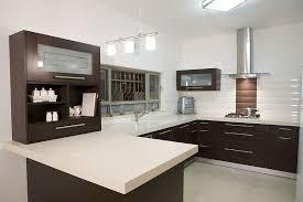 modern kitchen counter. Modern Kitchen Countertop Using Quartz Engineered Stone Counter