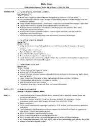 Java Support Resume Samples Velvet Jobs