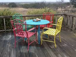 painted metal patio furniture. Perfect Furniture Painting Outdoor Furniture On Pinterest Painted For Metal Patio