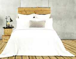 quilted duvet cover rustic collection en jersey white quilted duvet cover
