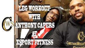 leg workout with anthony capers at xsport fitness in chicago video