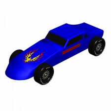 Pinewood Derby Cars Designs Firebird Trans Am Pinewood Derby 3d Design Plan Instant Download