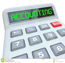 accounting word calculator bookkeeping budget work royalty free stock photography