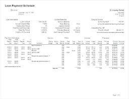 Unique Auto Loan Amortization Excel Template Repayment Spreadsheet