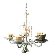 teacup chandelier teacup chandelier luxury wrought iron teacup candle chandelier