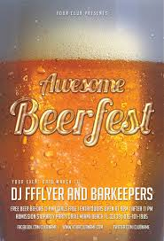 the best barbecue flyer psd templates for photoshop awesome beerfest flyer template