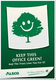 posters for the office. Keep This Office Green. Downloadable A4 Poster Posters For The