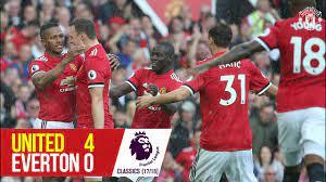 Manchester United 4-0 Everton (17-18) | Premier League Classics