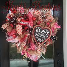 Kandi's Kreations on Facebook   Valentine WreathValentines DayDeco ...